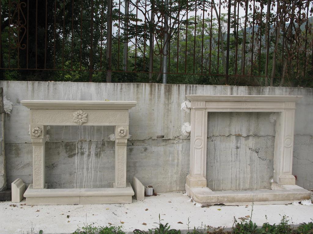 Galleria foto camini in pietra e pozzi ditta anile diego for Camini rivestiti in pietra immagini