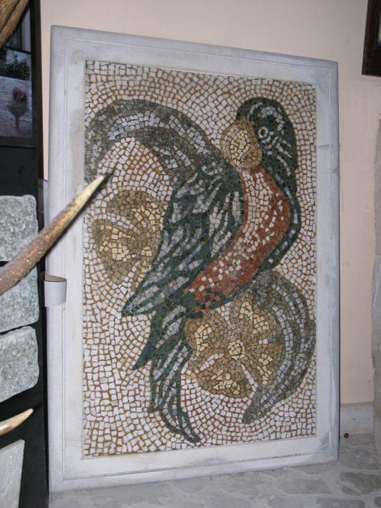 Mosaico in vetro mosaici in pietra ditta anile diego for Disegni frontali in pietra